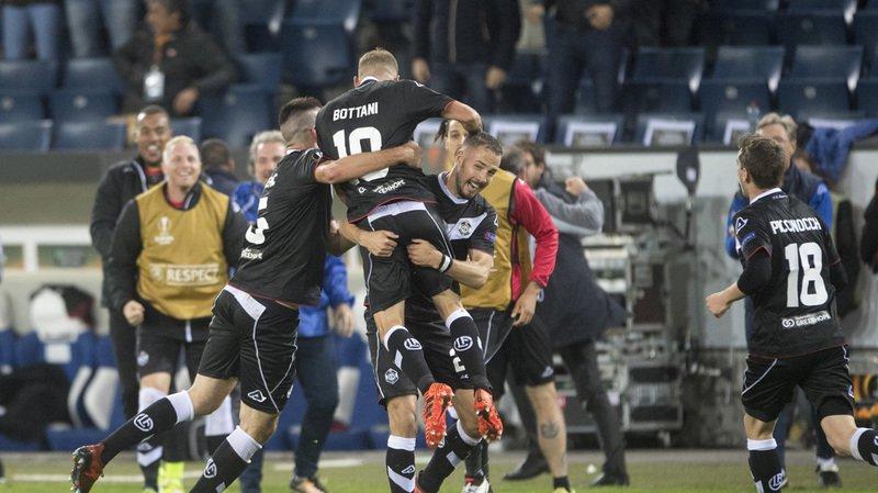 Ligue Europa: Lugano bat les Tchèques de Plzen 3-2 et se relance dans le groupe G