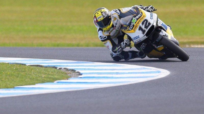 Seulement 10e du GP d'Australie à Phillip Island, Thomas Lüthi - victime durant le week-end de deux grosses chutes - aura besoin d'un miracle pour parvenir à dépasser son adversaire.