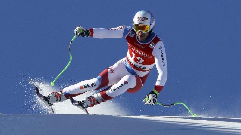 Ski alpin: blessé au genou, Carlo Janka ne se résout pas à clore sa saison