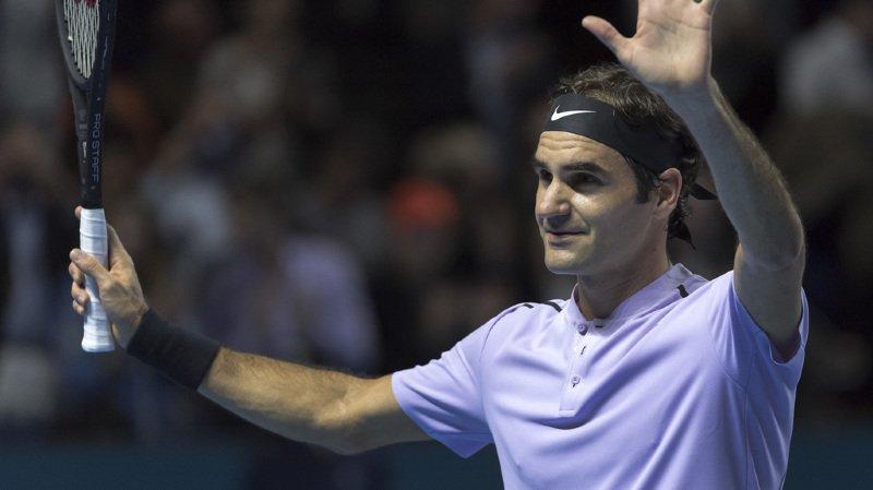 Swiss Indoors: Roger Federer surpris de son niveau de jeu