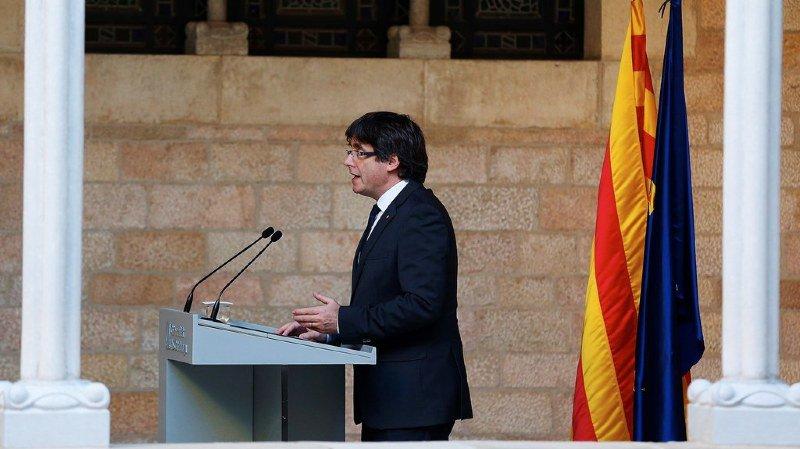 Le président de la Catalogne a essayé en vain d'éviter une mise sous tutelle.