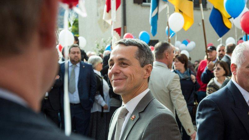 Conseil fédéral: Ignazio Cassis, ministre des affaires étrangères dès mercredi