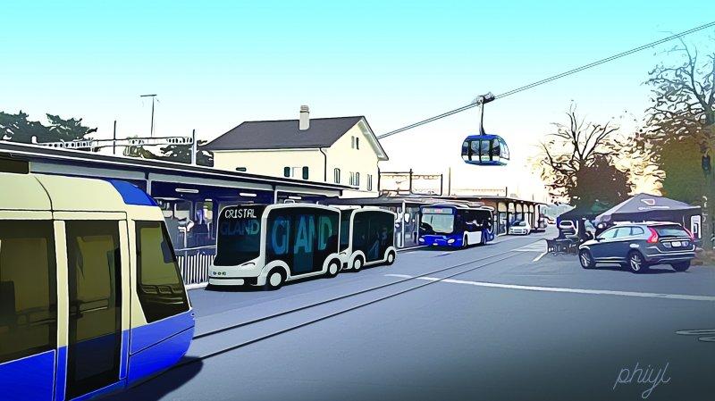 A Gland, la mobilité du futur se dessine entre fantasme et réalité