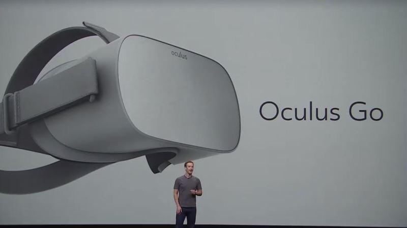 Facebook lance Oculus Go, un casque de réalité virtuelle à moins de 200 francs