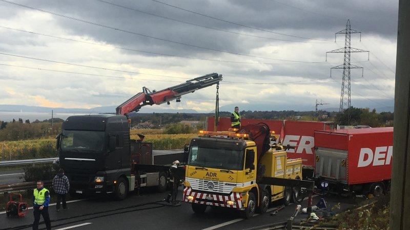 L'autoroute A1 fermée tout un après-midi suite à un accident