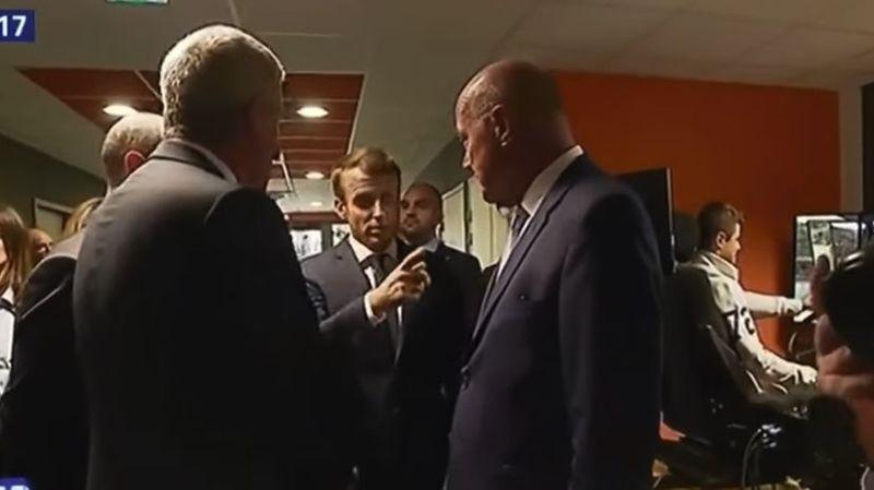 """Polémique: """"Certains feraient mieux d'aller chercher du travail au lieu de foutre le bordel"""", dixit Macron"""