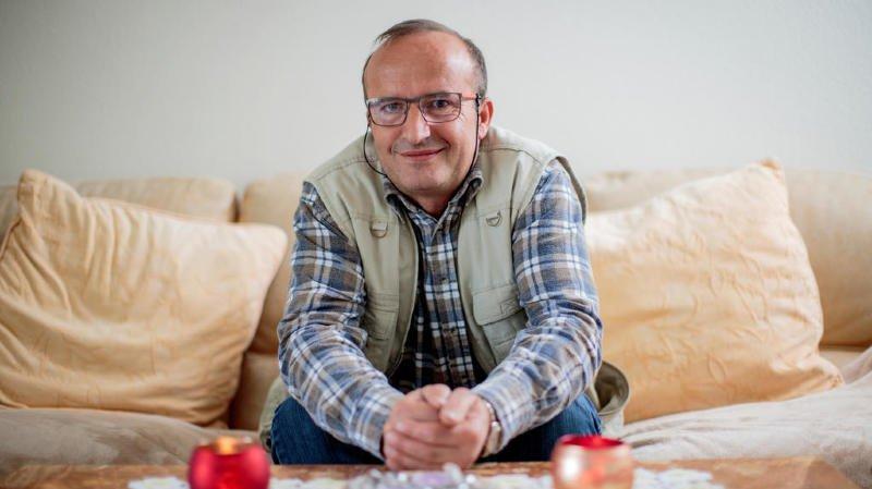 Professionnel du bâtiment, Ilmi Asllani s'inquiète de l'avenir à la Suettaz