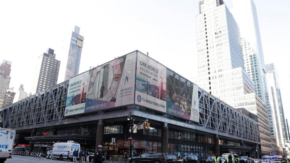 L'explosion a eu lieu dans un tunnel proche de la gare routière de Port Authority, près de la 42e rue et de la 8e Avenue.