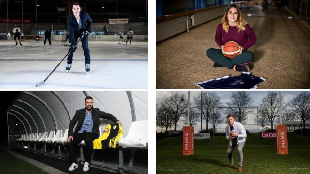 Les sportifs doivent composer avec leur pratique du sport à haut niveau et leur travail.