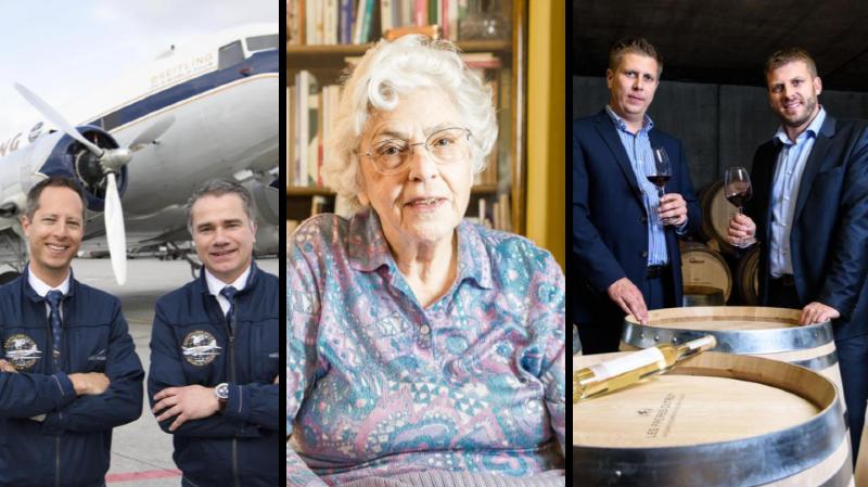 Personnalité La Côte: des pilotes, une politicienne et des vignerons