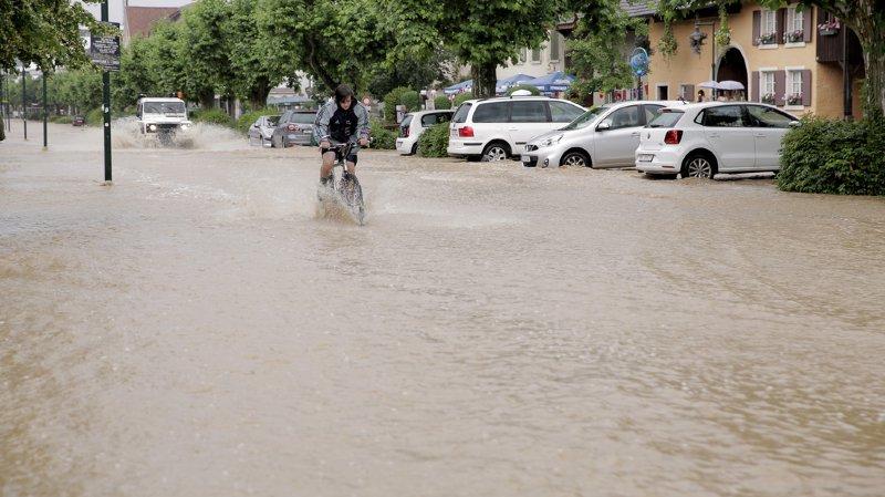 Catastrophes naturelles: 130 milions de francs de dégâts en Suisse en 2016