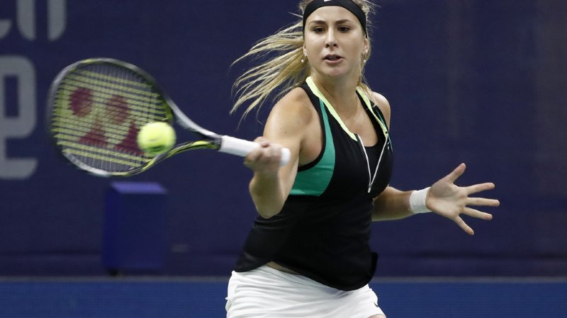 Tennis: Belinda Bencic bat Viktorija Golubic et se hisse en finale à Taïpei