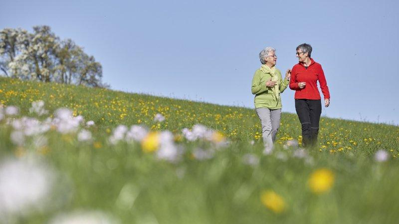 La pollution annule les bienfaits de la marche chez les seniors