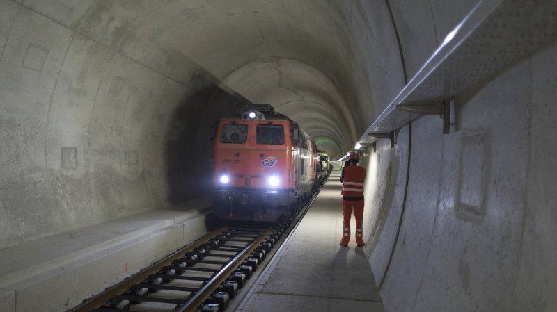 Gothard: la neige a fortement perturbé le trafic ferroviaire mardi matin