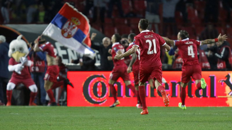 Aleksandar Prijovic et ses coéquipiers ont réalisé une campagne de qualification très solide.