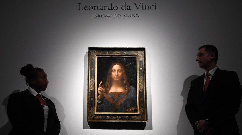 Le tableau de Léonard de Vinci vendu pour 450 millions de dollars sera exposé au Louvre d'Abou Dhabi