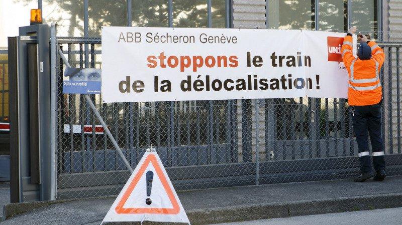 Genève: ABB restructure, une centaine d'emplois menacés