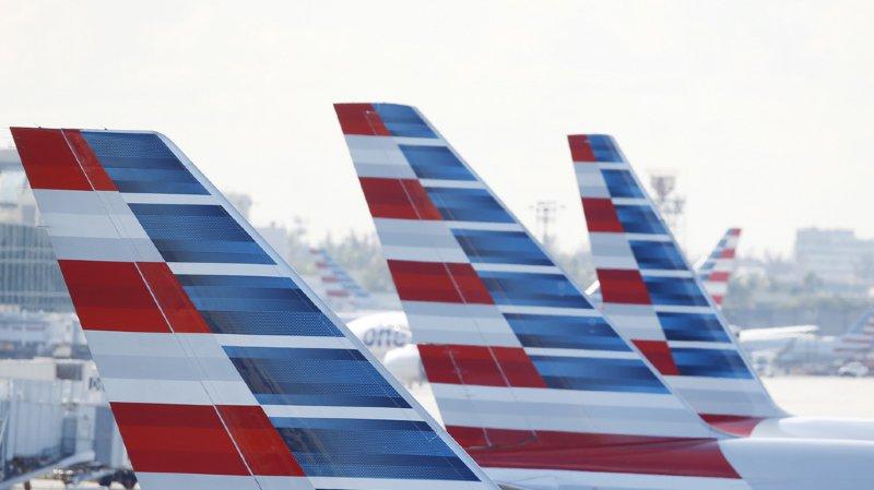 Le syndicat américain des pilotes de ligne et la compagnie American Airlines ont trouvé vendredi un accord de principe pour maintenir l'activité prévue pendant les fêtes de fin d'année. (illustration)
