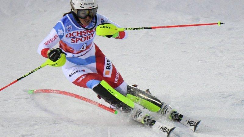 Ski alpin: Wendy Holdener deuxième après la première manche du slalom de Killington