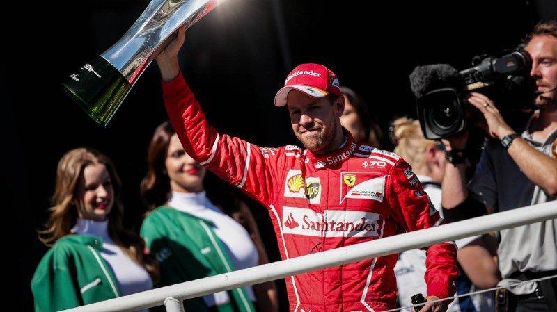 Formule 1: Vettel remporte le Grand Prix du Brésil à Interlagos