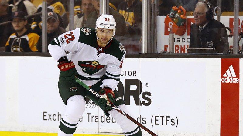 NHL: Niederreiter marque pour la sixième fois en six matches, nouvel assist pour Hischier