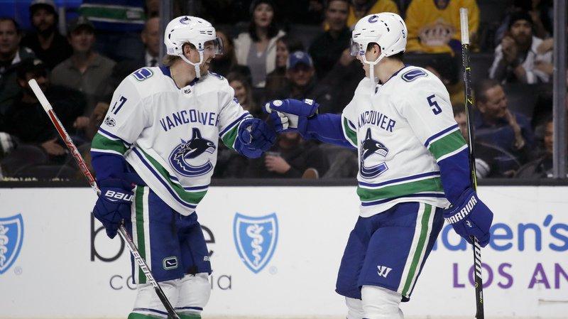 NHL: huitième but avec les Canucks de Vancouver pour le Bernois Sven Bärtschi