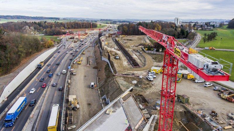 Zurich: le troisième tube du tunnel du Gubrist a été creusé à coups d'explosifs