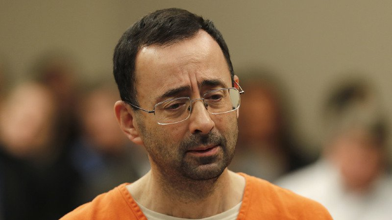 Pédopornographie: l'ex-médecin de gymnastique Larry Nassar condamné à 60 ans de prison