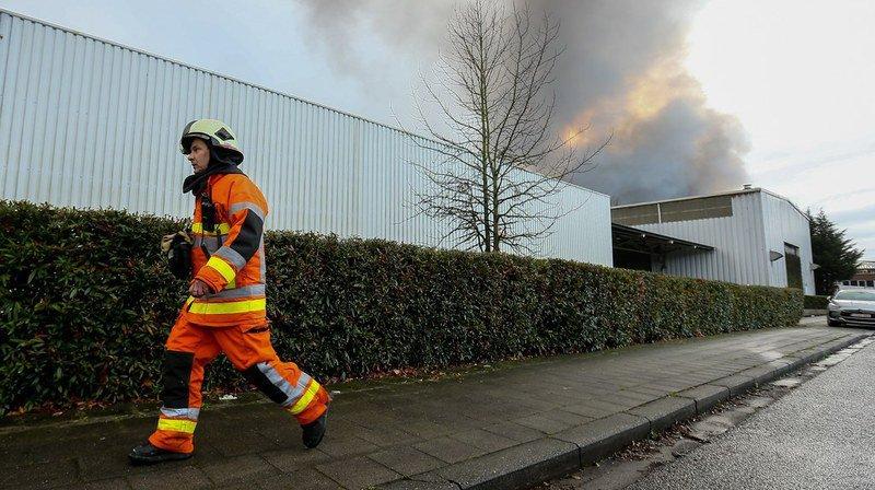 L'incendie semble être parti d'un système de refroidissement des fours servant à cuire les gaufres.