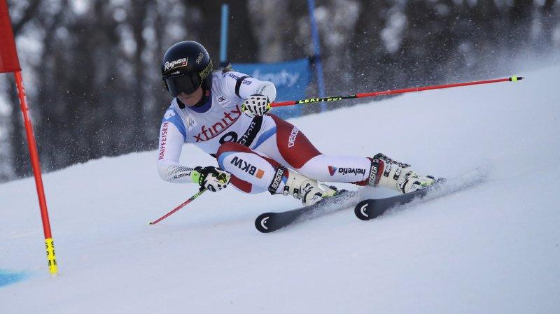 Ski alpin: les Suissesses distanciées après la première manche du géant de Killington