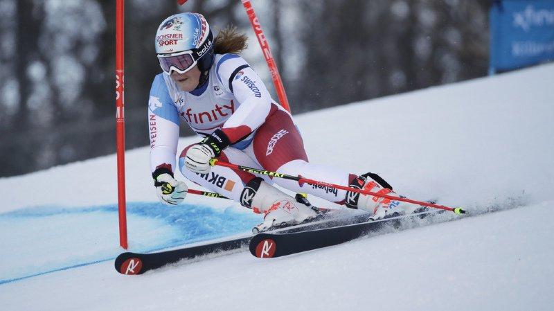 Ski alpin: Mélanie Meillard dans le top 10 du géant de Killington