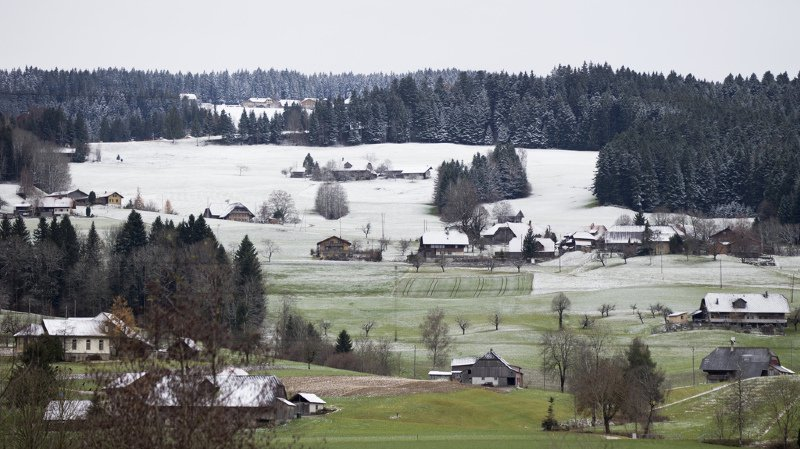 Météo: cet automne, il y a eu 50% de précipitations en moins qu'habituellement en Suisse romande