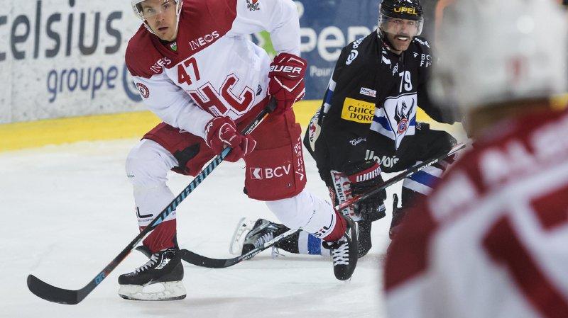 Hockey: Lausanne s'impose 4-0 face à Fribourg, victoire de Genève et Bienne en National League