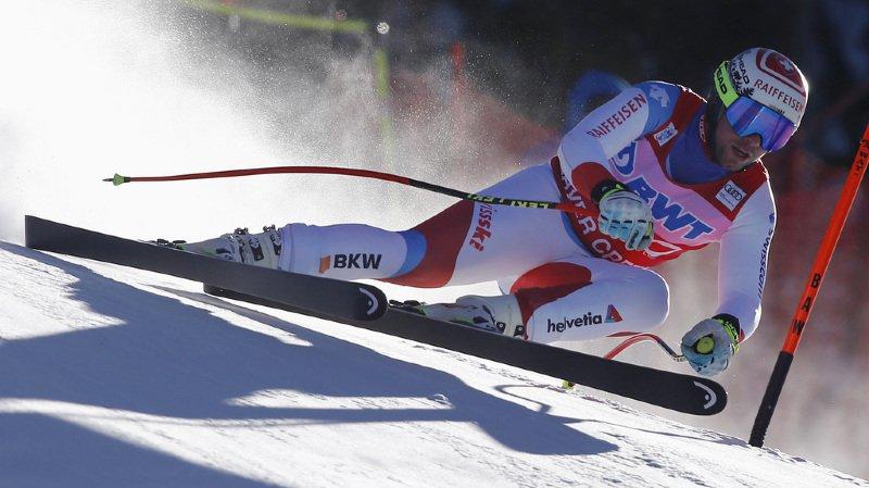Ski alpin: Beat Feuz deuxième de l'entraînement de la descente de Beaver Creek