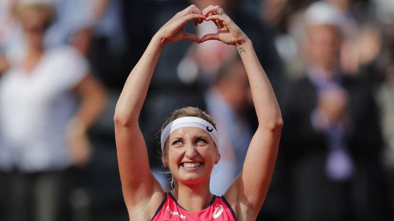 Tennis: Timea Bacsinszky va se marier