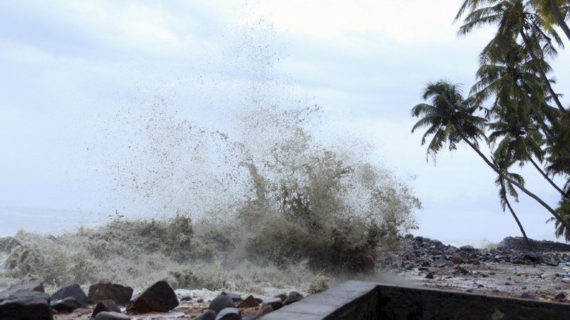 Le cyclone Ockhi tue au moins 26 personnes en Inde et au Sri Lanka