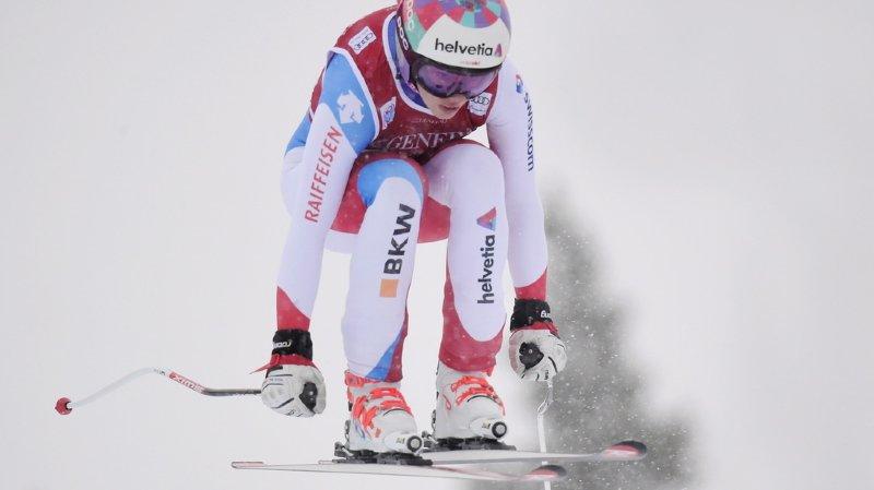 Ski alpin: Michelle Gisin arrache la troisième place à Lake Louise, les slalomeuses au pouvoir
