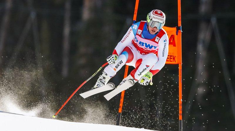 Ski alpin: Beat Feuz décroche la seconde place à Beaver Creek