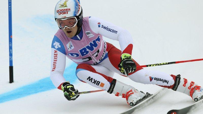 Ski alpin à Val d'Isère: Loïc Meillard, seul Suisse à terminer le slalom, se classe 14e