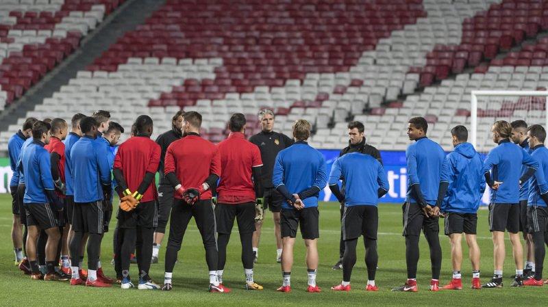 FC Bâle affrontera Benfica mardi.