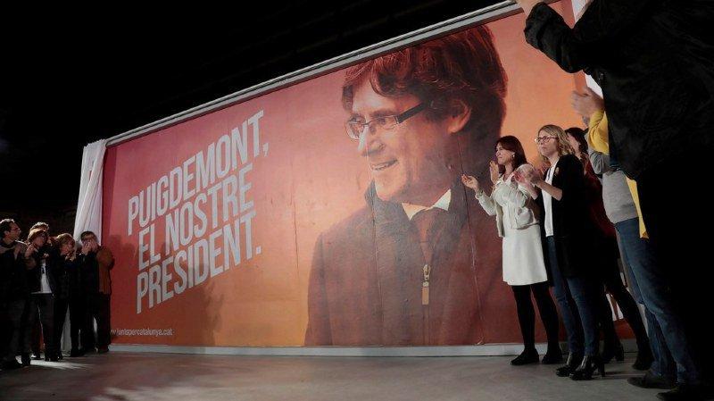 Candidats en prison ou en exil: élections atypiques en Catalogne