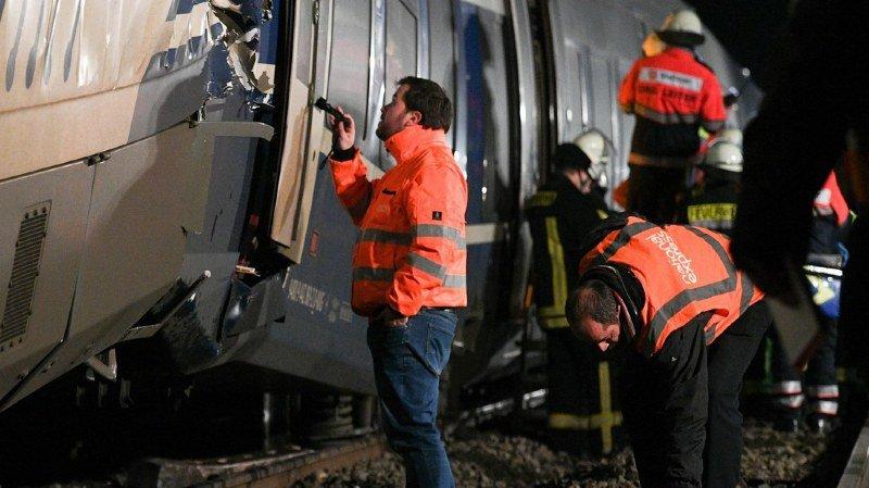 Allemagne: une collision entre deux trains fait une cinquantaine de blessés