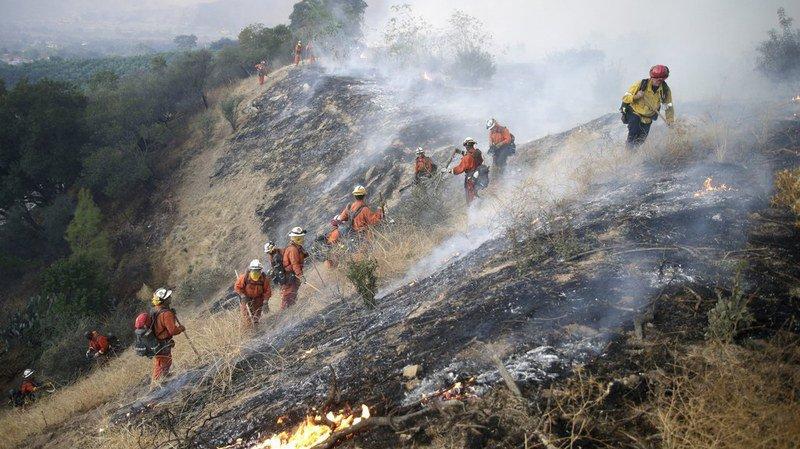 En Californie, les flammes ont détruit plus de 500 bâtiments et contraint près de 200'000 personnes à fuir leur domicile.