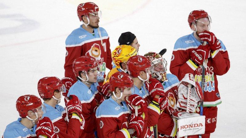 Hockey sur glace: Lausanne et Bienne stoppés dans leur élan