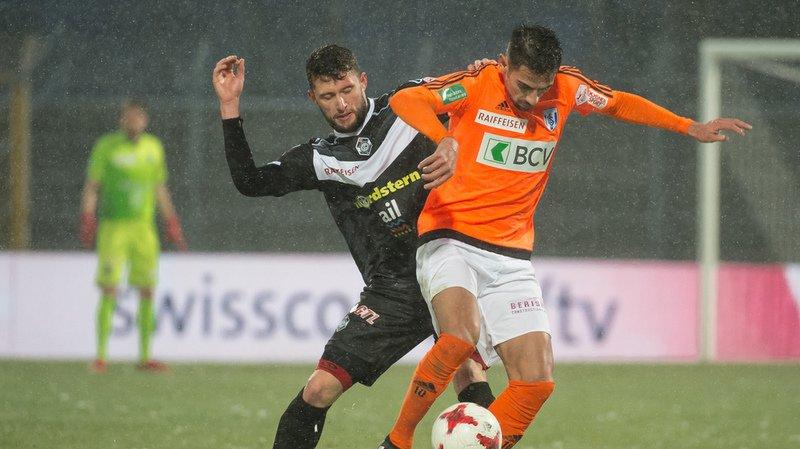 Football: Lausanne s'éloigne de la barre grâce à une victoire contre Lugano