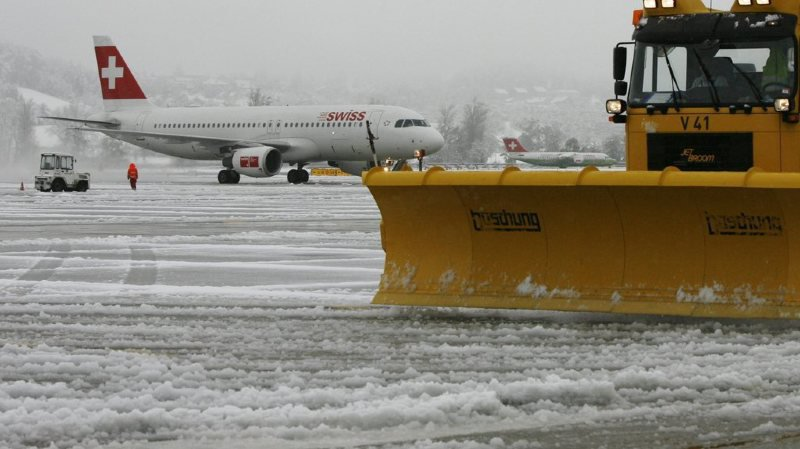 Le trafic aérien a été perturbé pendant une partie de la journée à l'aéroport de Zurich. (photo d'archives)