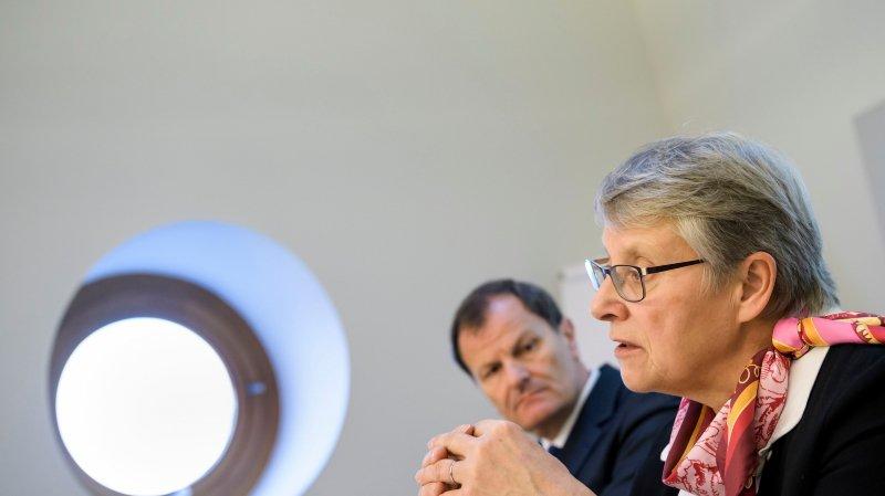 La ministre Béatrice Métraux a souligné à quel point le secteur pénitentiaire, qu'elle supervise, était un domaine.