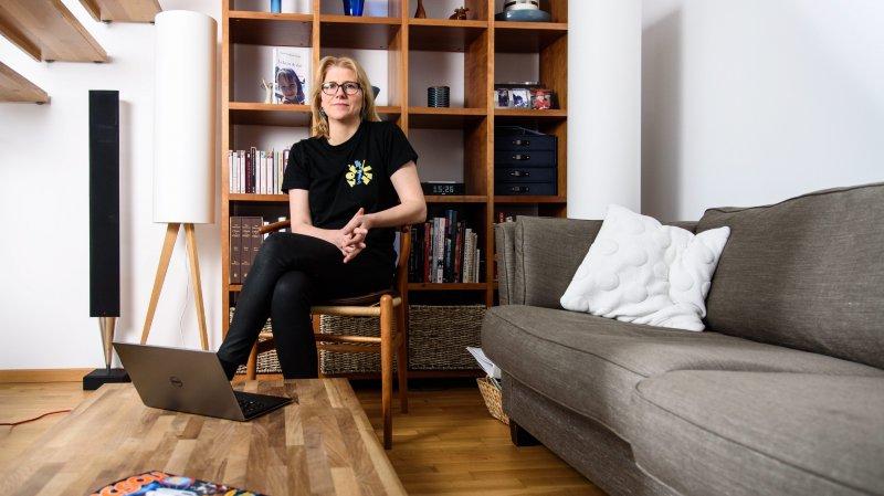 Installée à Gland, Nicole Scobie investit bénévolement de nombreuses heures pour Zoé4life.