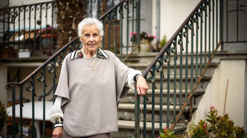 Simone Wurlod, chez elle à Rolle.