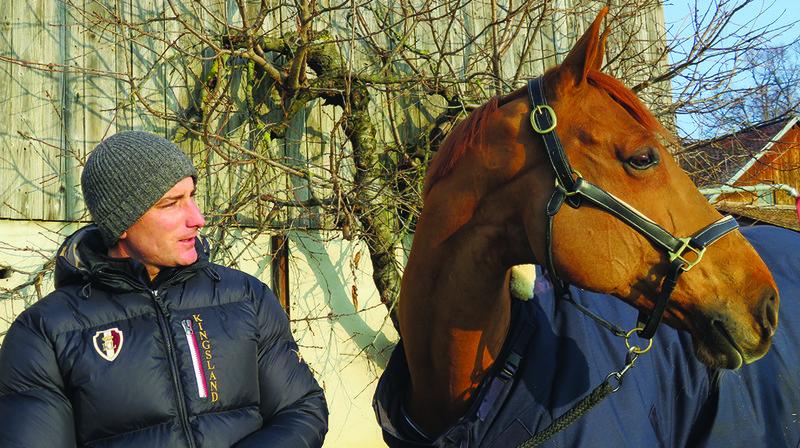 Guillaume Delhaye et son cheval «Richebour de Cartigny» découvriront Palexpo, ce week-end.